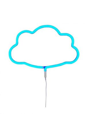 A Little Lovely Company neon light blue cloud
