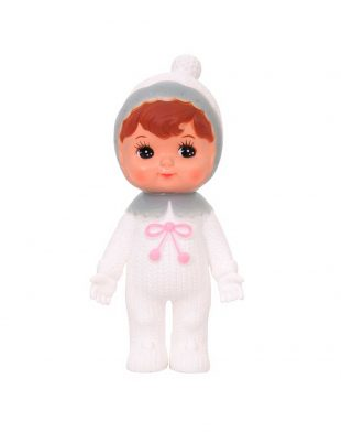 Lapin & Me Snow Baby Grey - woodland doll