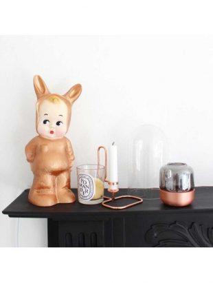 Lapin & Me baby lapin lamp - copper
