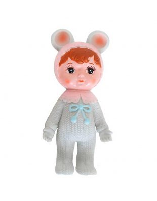 Lapin & Me woodland doll grey