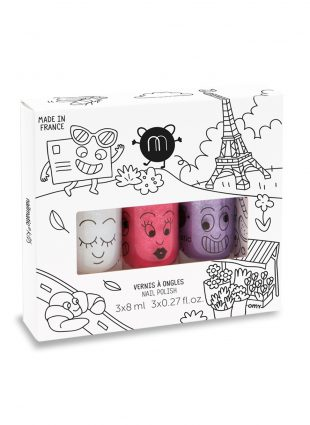 Nailmatic Kids - Nagellak op waterbasis – City (Set of 3)