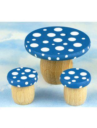 droomdeurtjes tafelset blauw