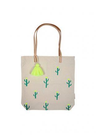 meri meri cactus tote bag