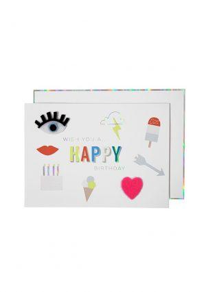 meri meri felt card