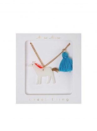 meri meri horse necklace
