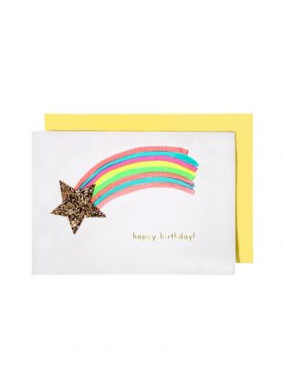meri meri shooting star card