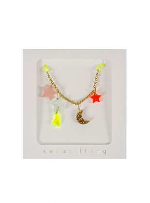 meri meri stars and moon necklace
