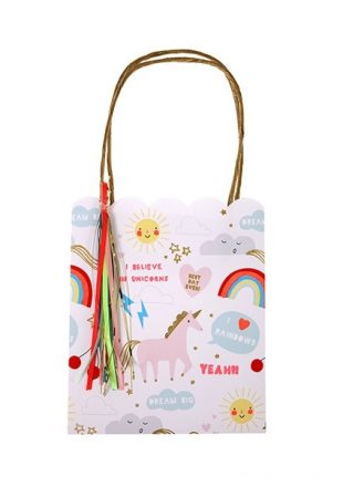 meri meri unicorn bags