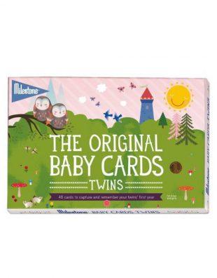 milestone twins cards
